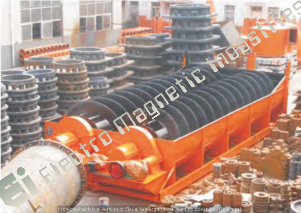 Spiral Classifier Electro Magnetic Industries